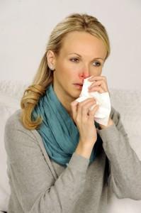 Sind die Nasenschleimhäute angeschwollen riecht man nichts mehr