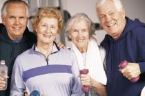 Für Senioren ist Sport eher eine Pflichtübung